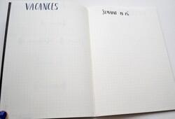 2/ Bullet Journal de Décembre.