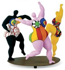 "Les ""nanas"" Niki de Saint Phalle"