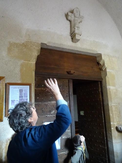 Visite de Baigneux-les-Juifs avec les Amis du Canton d'Aignay-le-Duc