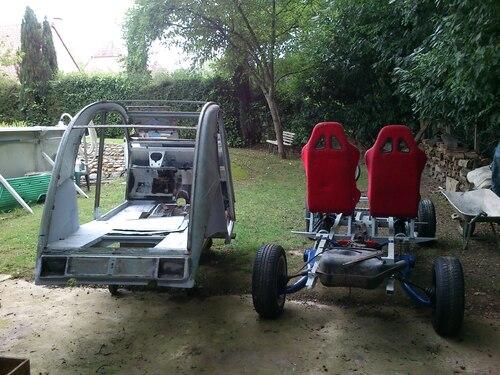 2cv 4x4 10 Enfin sur les roues