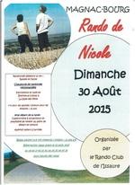 Limousin: Ce dimanche c'était la rando de Nicole à Magnac-Bourg.