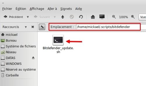 Utilisation de Bitdefender sous Linuxmint