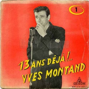 Yves Montand, 1957