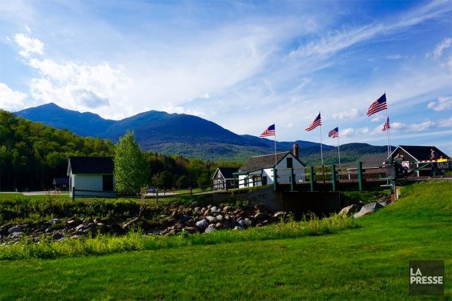 Tout près du Québec, les montagnes Blanches, dans... (Photo Audrey Ruel-Manseau, La Presse)