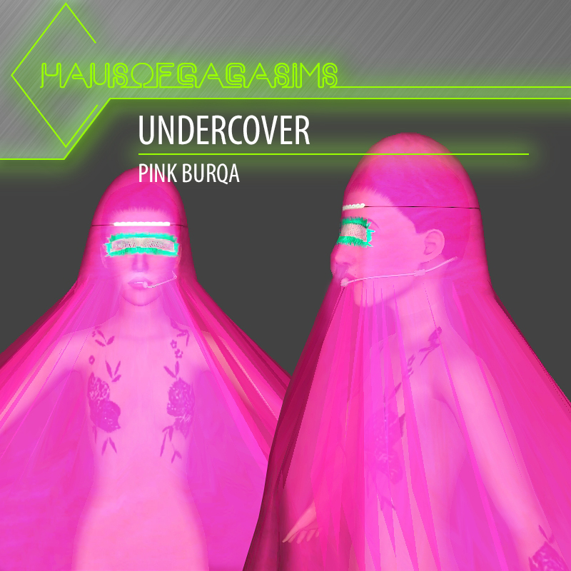 UNDERCOVER PINK BURQA