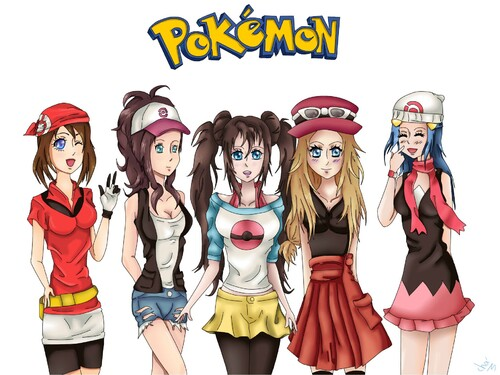 Fanart - Pokemon girls