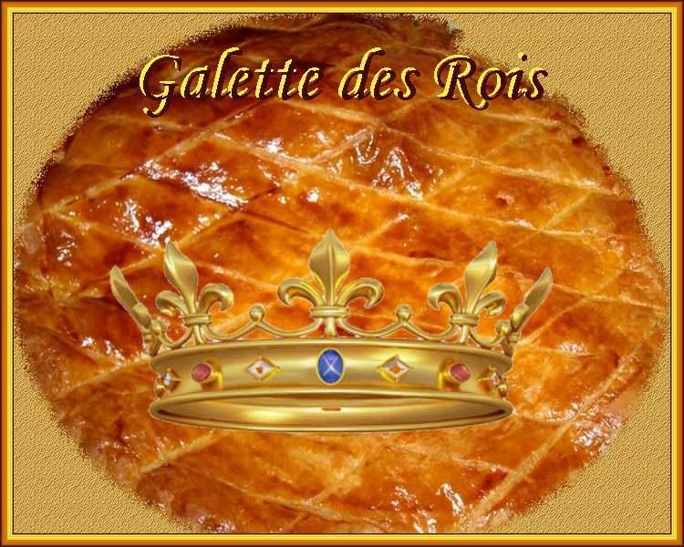 Recette de cuisine : Galette des Rois