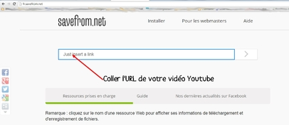 Télécharger via Youtube