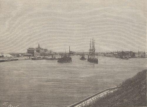Travaux du port de Calais