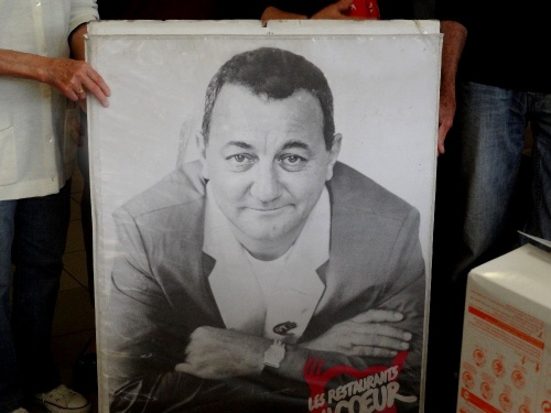 Intercampagne 2012 aux Restos du Coeur de Châtillon sur Seine