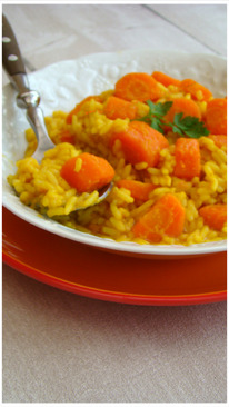 RISOTTO TOUT ORANGE