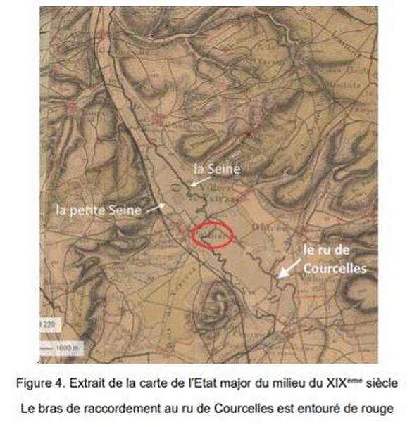 """""""L'assèchement de la petite Seine à Pothières"""", une étude de Pierre Potherat"""