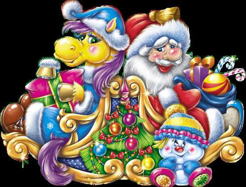 Animaux de Noël Série 6