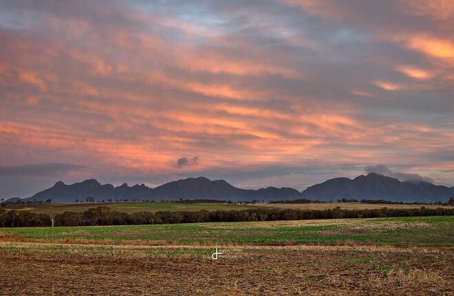 sunset nature photography