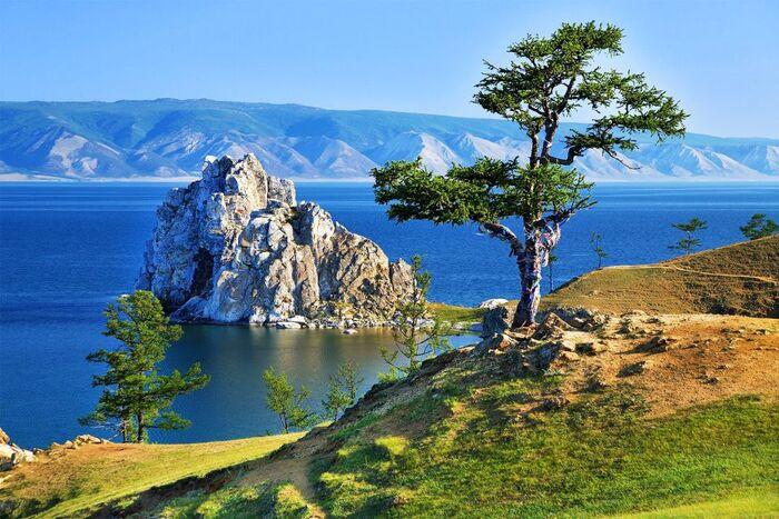 Le Lac Baïkal En Sibérie, Russie