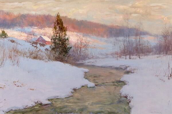 Peinture de : Walter Launt Palmer