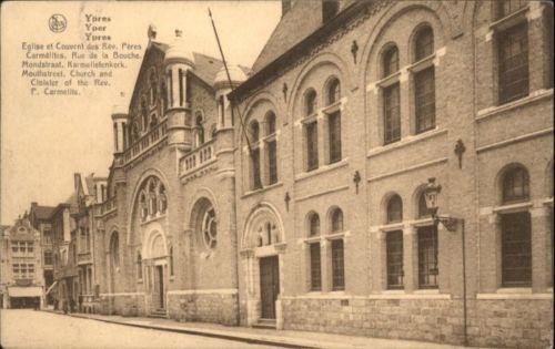 Ypres, couvent des Pères Carmes
