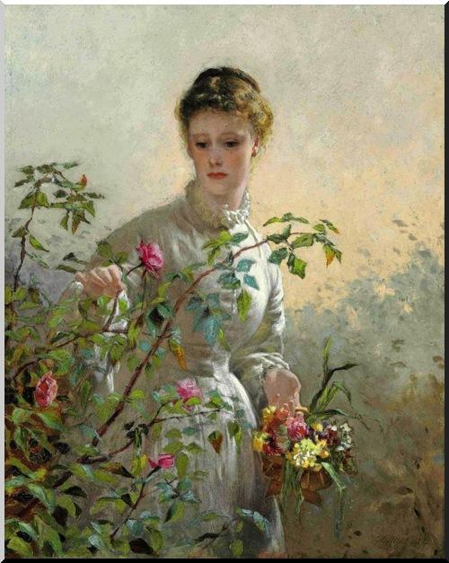 """""""Roses de Juin"""" poème de"""