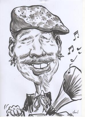 Caricature chantibuleur