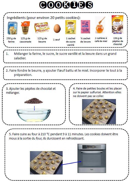 Recettes de cuisine illustr es cp dtc - Recette de cuisine pour l hiver ...