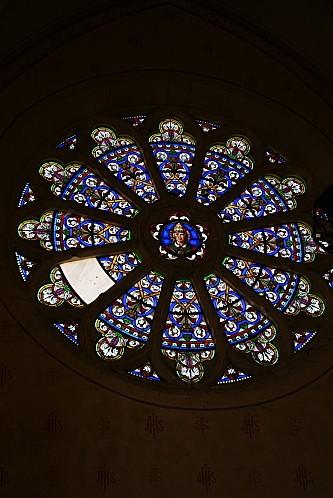 Transept nord Saint Aubin