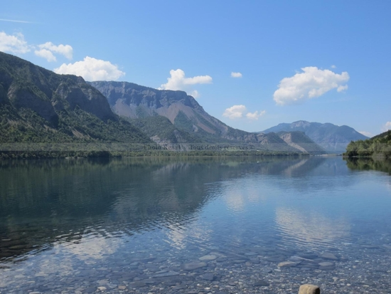 Lac de Serre Ponçon Vu du Barrage  (4)