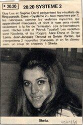 19 janvier 1975 / SYSTEME 2