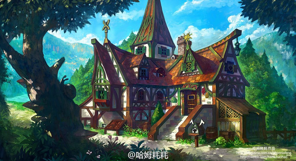 """Résultat de recherche d'images pour """"fantasy house deviantart"""""""
