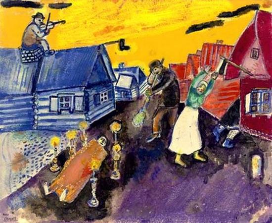 Marc Chagall, La mort