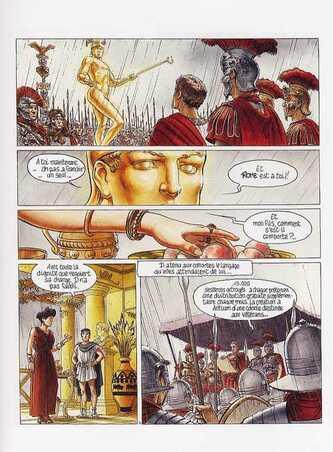 De sable et de sang de Dufaux et Delaby - Murena, tome 2