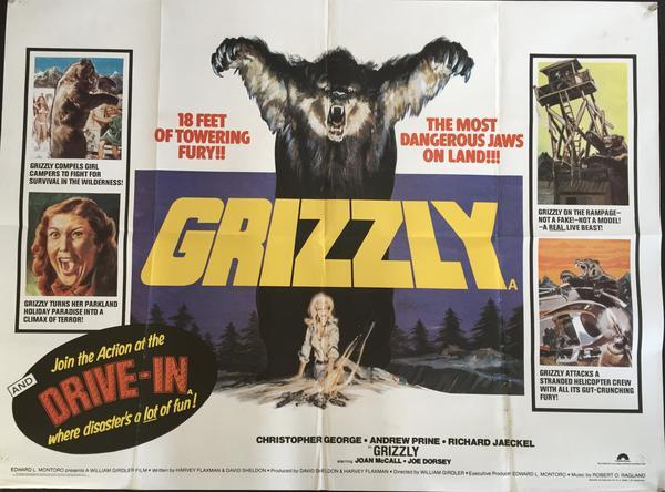 GRIZZLY BOX OFFICE 1976