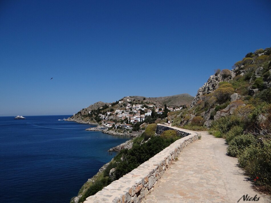 Ydra en Grèce,