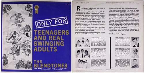"""Only For Teenagers And Real Swinging Adults"" Various album Success Records"