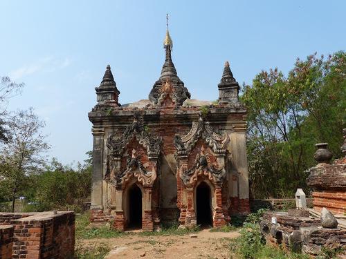 la pagode Daw Gyan - suite
