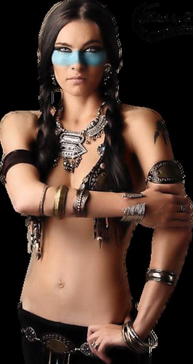 Tubes Femme Indienne