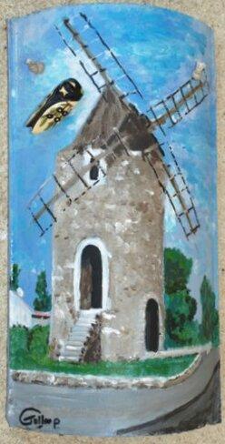 Le Moulin de St Mitre les Remparts