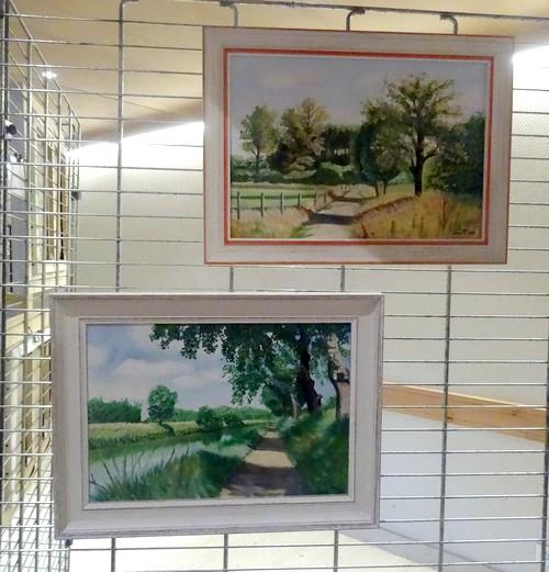 Les peintres de la Section peinture des Amis du Châtillonnais ont présenté leurs belles créations au Salon 2016