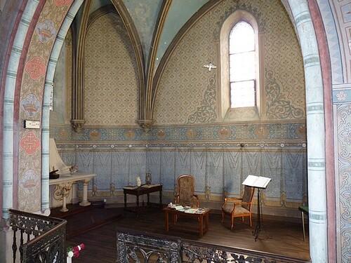 Chapelle-Chambre à louer pour Pèlerins