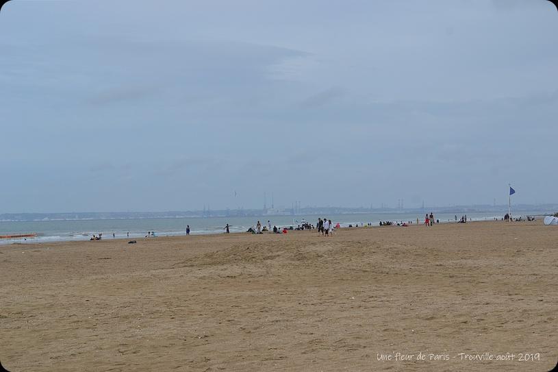 Trouville : La plage