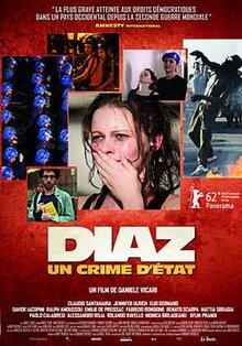 Diaz un crime d'état - film de Daniele Vicari (2013)