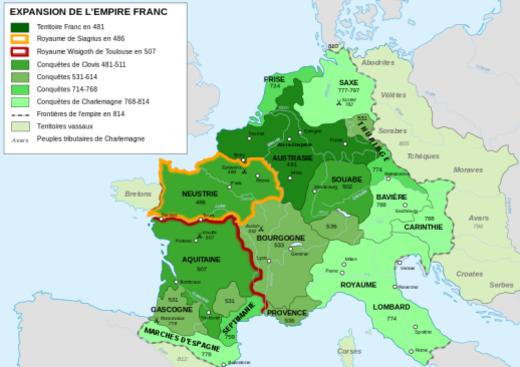 800px-Frankish Empire 481 to 814-fr.svg