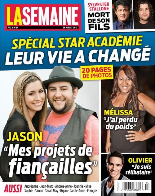 Spécial Star académie dans la revue La Semaine (20 pages)