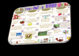 Les calendriers d'Écriture RÉCAP'