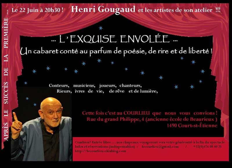 Affiche Atelier Heuri Gougaud - l'exquise envolée