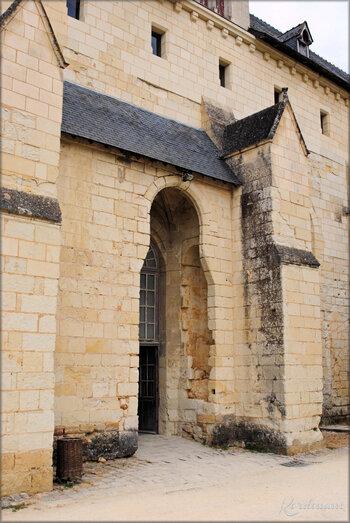 Photo de la cour Saint-Benoit - Abbaye de Fontevraud