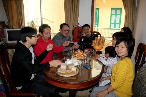 Casse croute du Sud-Ouest pour Vietnamiens devoues