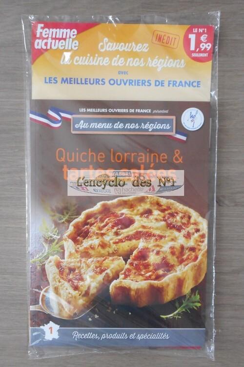 N° 1 Au menu de nos régions - Lancement réédition 2016