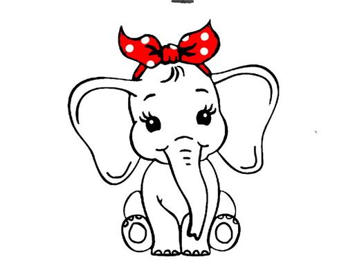 une jolie petite éléphanteau