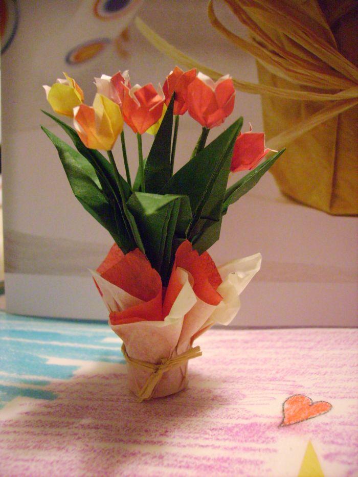 Tuto Fleur Origami Gallery Of Tuto Fleur Kanzashi With Tuto Fleur