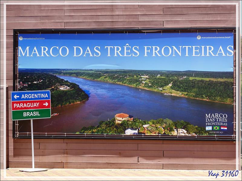 Arrivée au Parque Nacional do Iguaçu où nous accéderons aux chutes - Foz do Iguaçu - Brésil